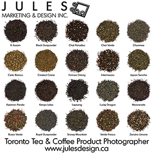 Toronto Tea Product Photography