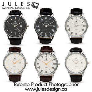 Toronto Watch Product Photographer