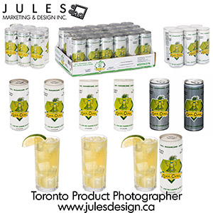 Toronto Softdrink Food Photographer
