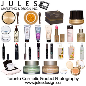 Toronto Advertising Cosmetic Product Photography