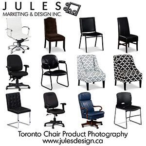 Toronto Chair and Furniture Advertising Photographer