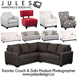 Couch and Furnishing Photographer Toronto