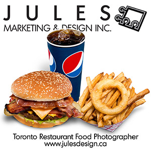 Toronto Restaurant Food Photographer