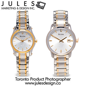 Toronto Jewellery and Watch Product Photography Studio