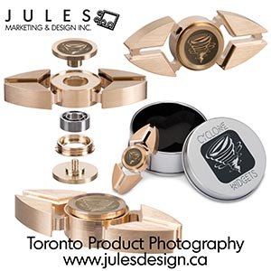 Toronto Metal Product Photography