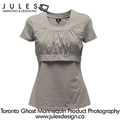 Toronto ghost manikin product photography