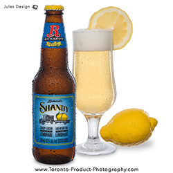 Beer Photoghapher, Drink Photography, Ricard's Shandy, Lemon, Toronto Food Photography, LCBO